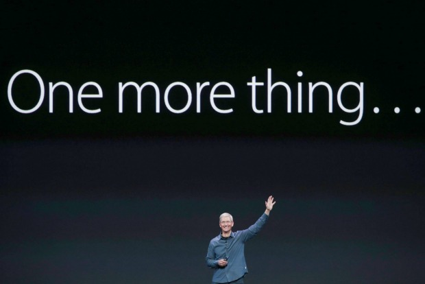 le one more thing de Tim Cook avec l'apple watch