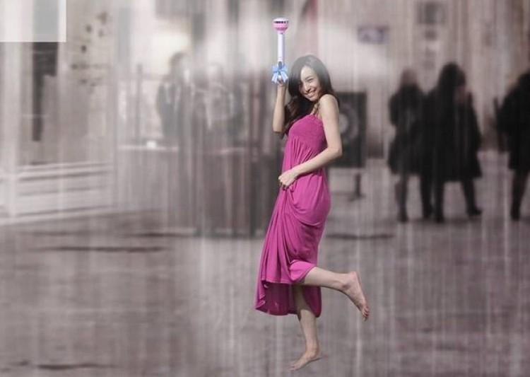 air umbrella le parapluie innovant sans toile étanche qui repousse l'eau