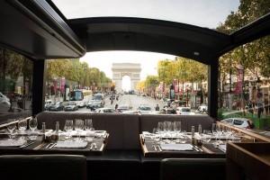 une verrière permet une visite de Paris à 360°