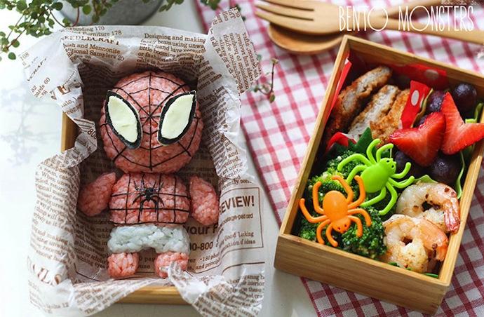 Li Ming crée spiderman