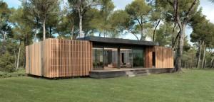 le cabinet d'architecte Multipod lance le projet de la maison en kit