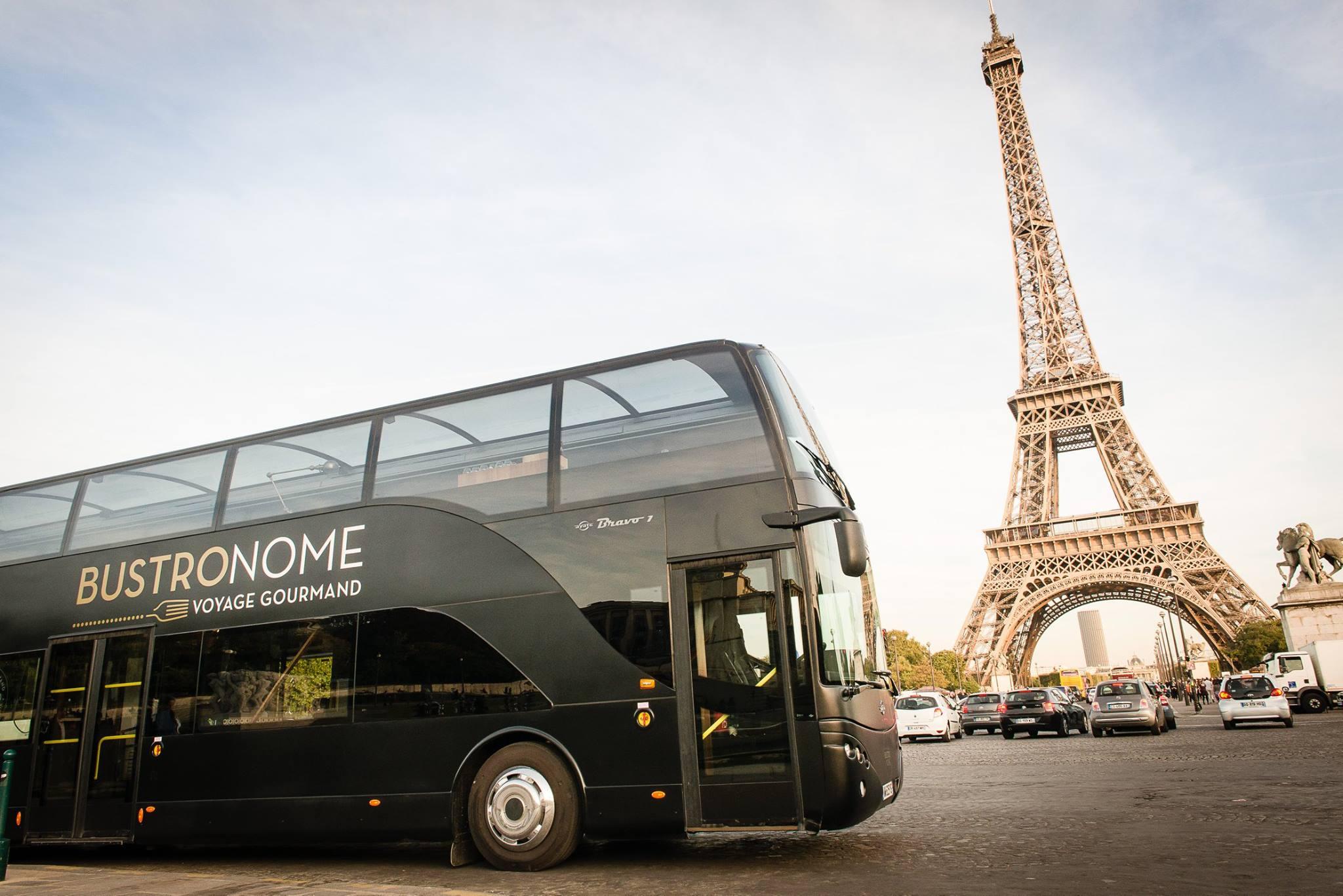 le bustronome propose une visite gourmande de paris