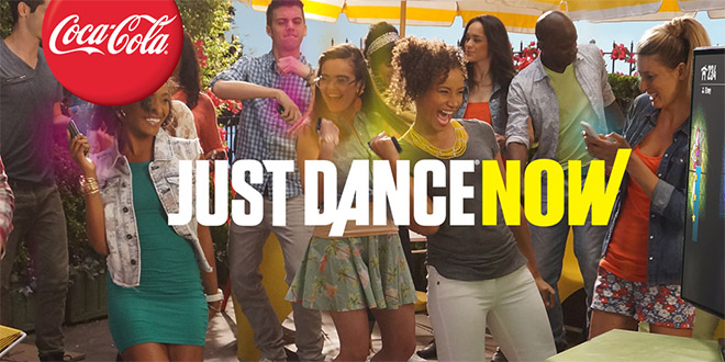 coca cola et ubisoft lance la version mobile de just dance