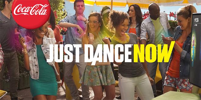 coca cola et ubisoft lance la version mobile de just dance
