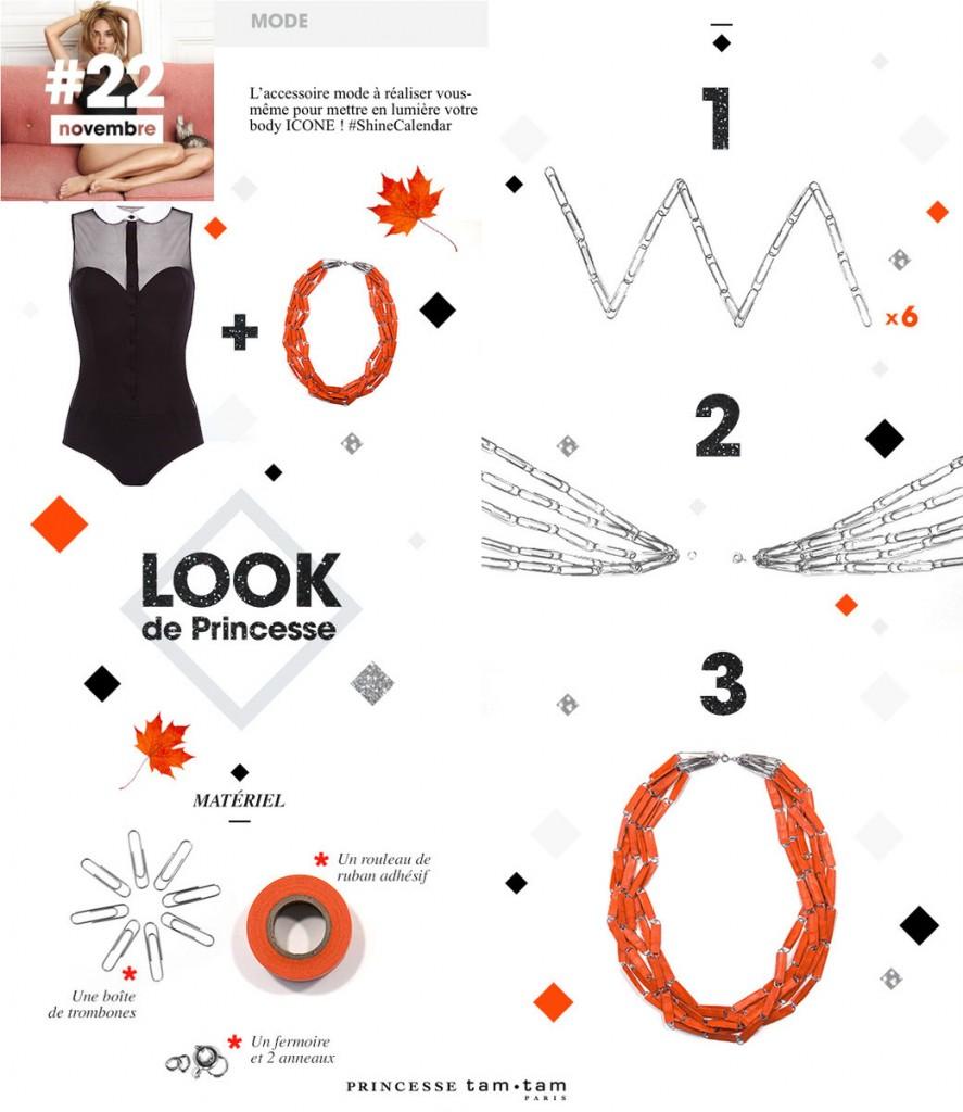 princesse tam tam donne des tuto pour confectionner des accessoires de mode, bijoux et déco