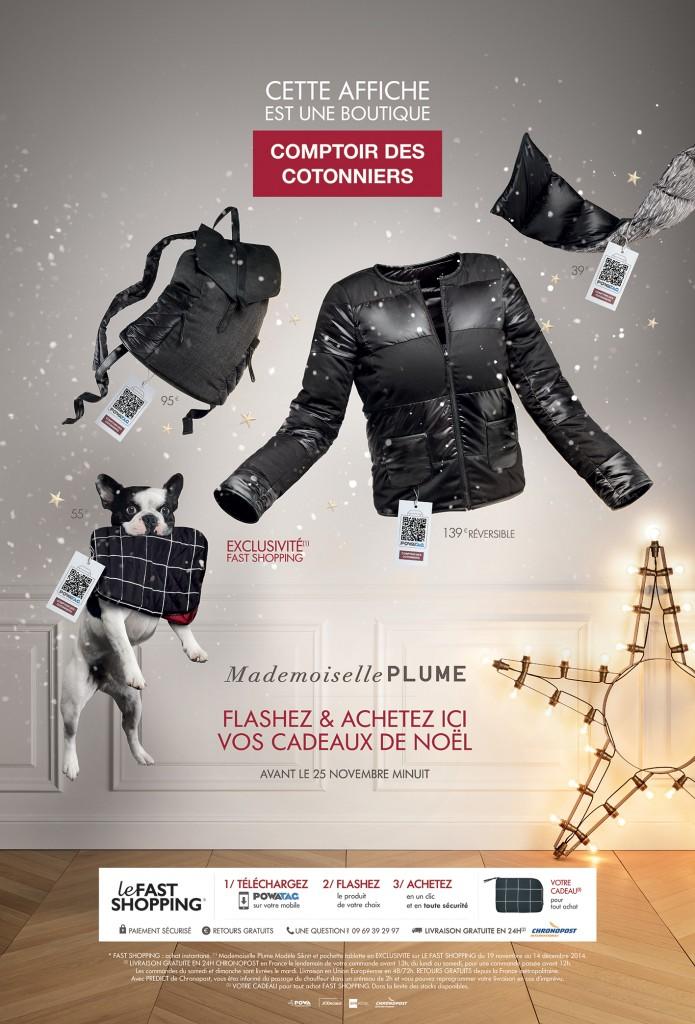avec cette nouvelle campagne comptoir des cotonniers permets d'acheter en exclusivité des produits de la collection mademoiselle plume