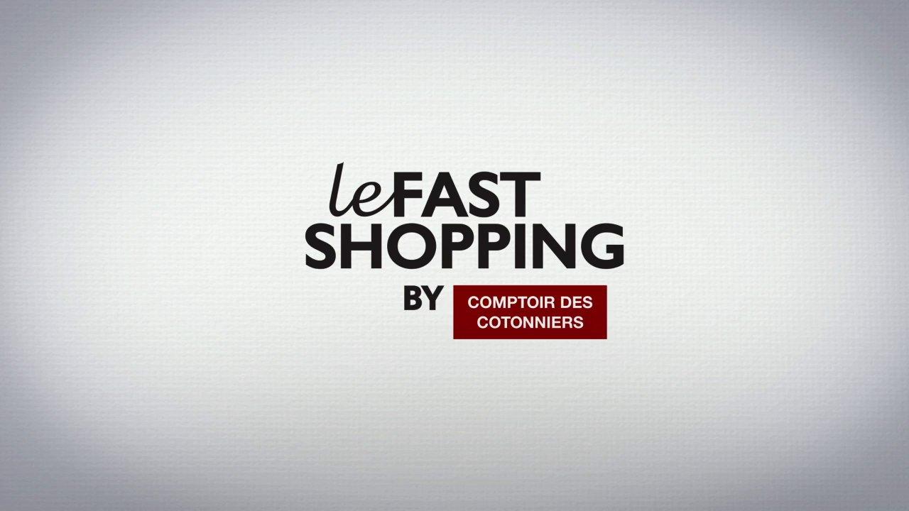 comptoir des cotonniers relance son opération fast shopping