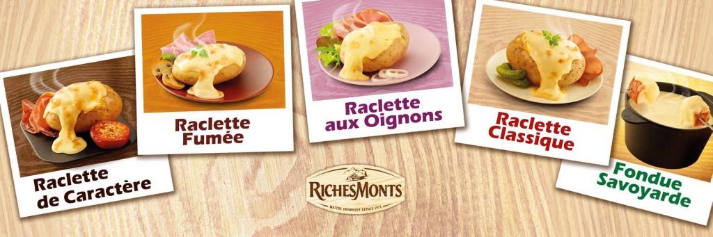 RichesMonts propose des dégustation de raclette et fondue avec un Food Truck spécial