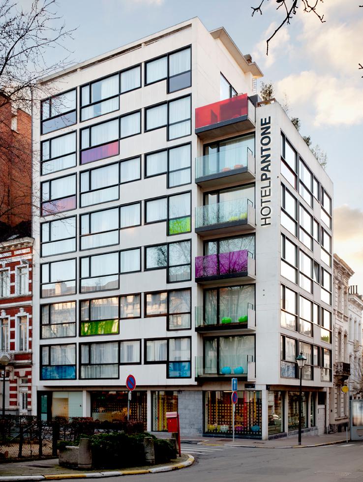 un hôtel innovant et design à bruxelles