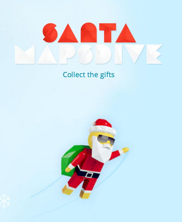 le google santa tracer permet également de jouer avec le père noël