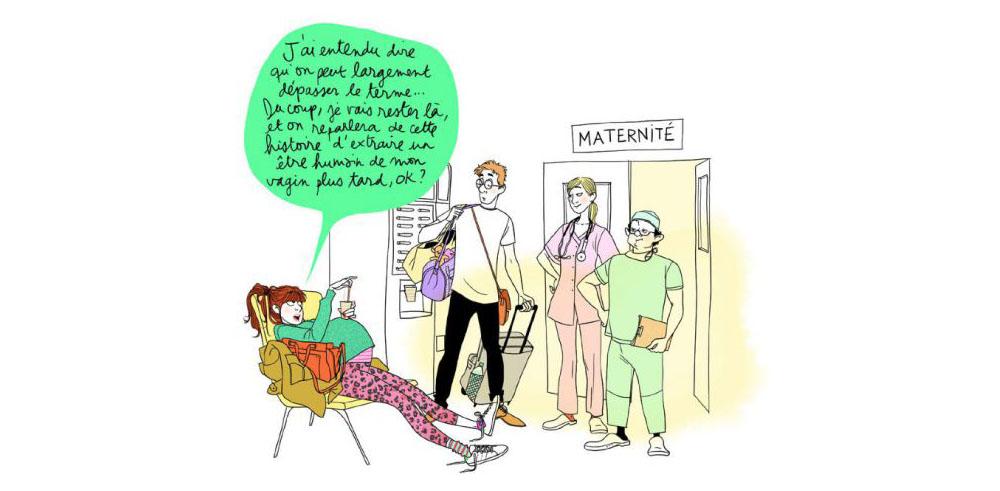 doctissimo accompagne les femmes dans leurs vie quotidienne et l'affiche avec margaux motin