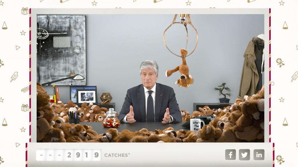 Maurice Lévy présente ses voeux 2015 avec Digitas LBi