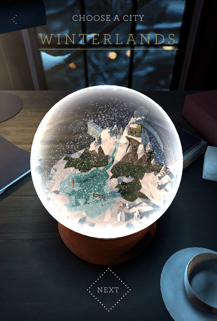 après avoir découvert les voeux de AKQA, vous pouvez créer votre propre boule de Noël personnalisée
