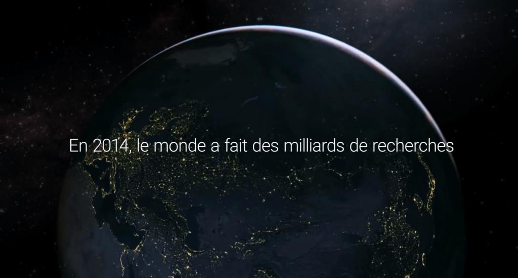 google dévoile une vidéo des moments forts de l'année 2014