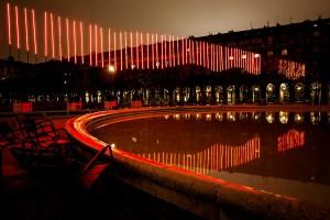 du light arts à admirer du 3 au 7 décembre en plein coeur de paris