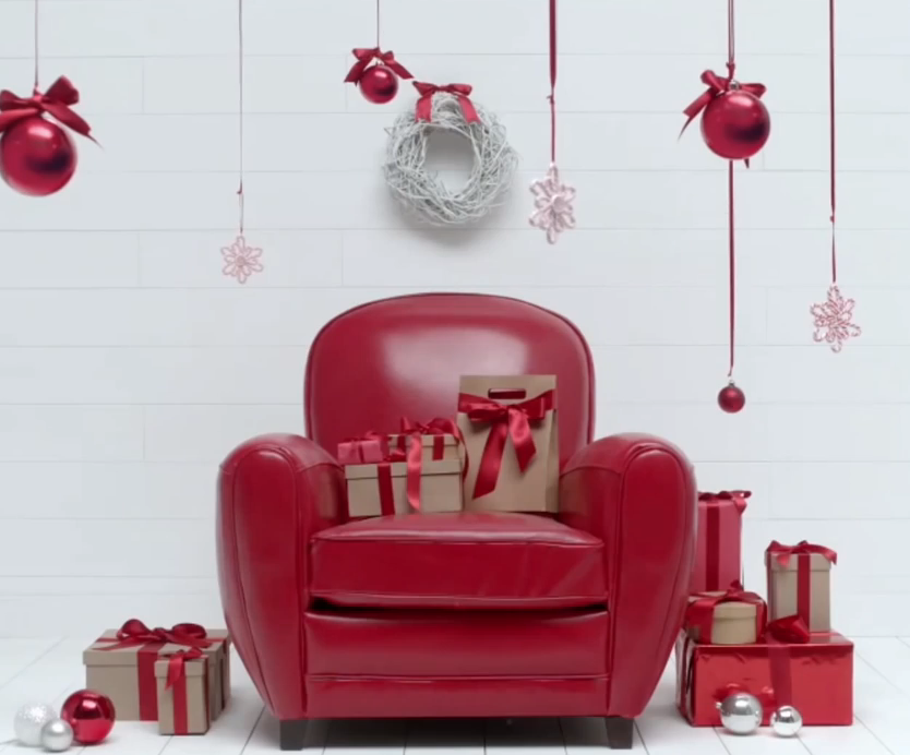 on peut aimer le rouge et le vert pour Noël avec maisons du monde