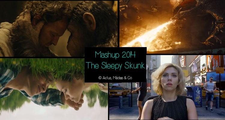 tous les films de 2014 condensé dans un mashup unique
