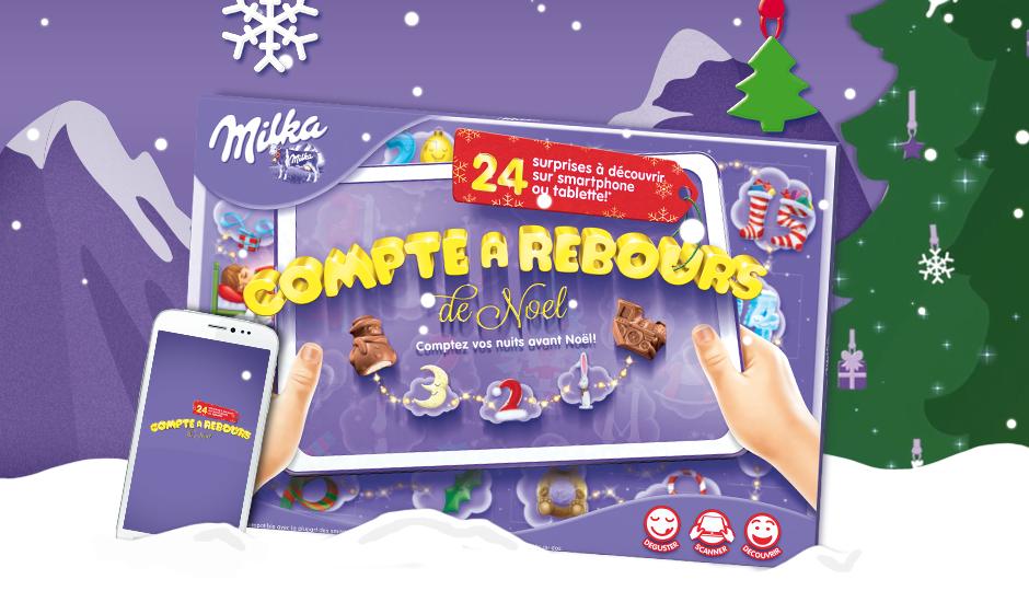 Milka lance son calendrier de l'avent et ajoute du divertissement pour patienter jusqu'à Noël