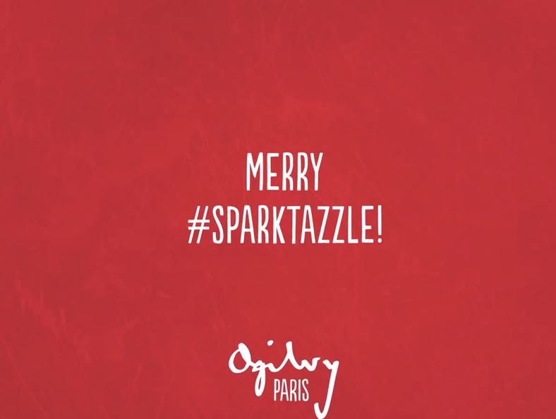 ogilvy vous souhaite un joyeux Sparktazzle