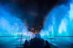 les 600 invités ont pu s'immerger dans l'univers du film exodus