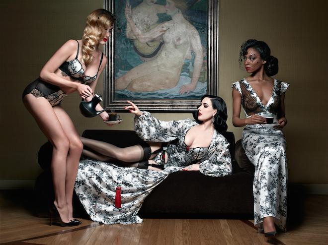 baptisée xxxtian cette ligne glamour  est proposée à la vente sur glamuse
