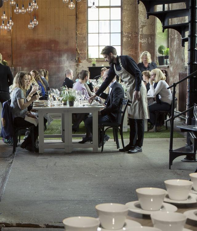 seuls quelques privilégiés vont pouvoir déguster les plats préparés à l'Atelier Nespresso