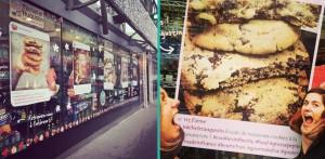 jusqu'au 7 février prenez vous en photo devant l'affiche du publicis drugstore et tentez de gagner des sacs de cookies