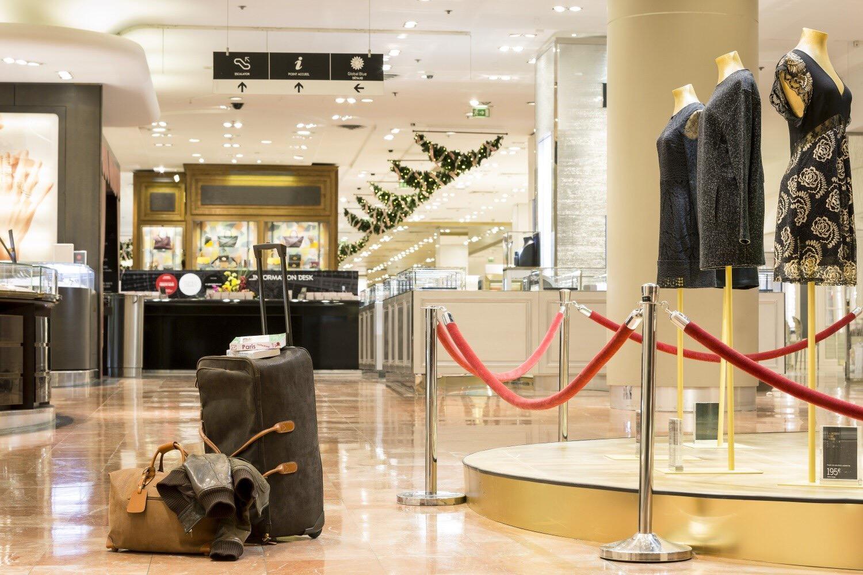 six chanceux vont pouvoir passer une nuit d'exception aux Galeries Lafayette grâce a AirBnB