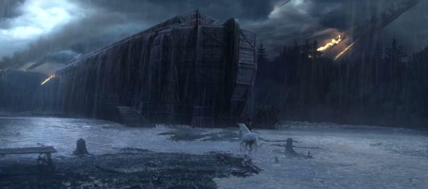 canal + revisite l'arche de noé