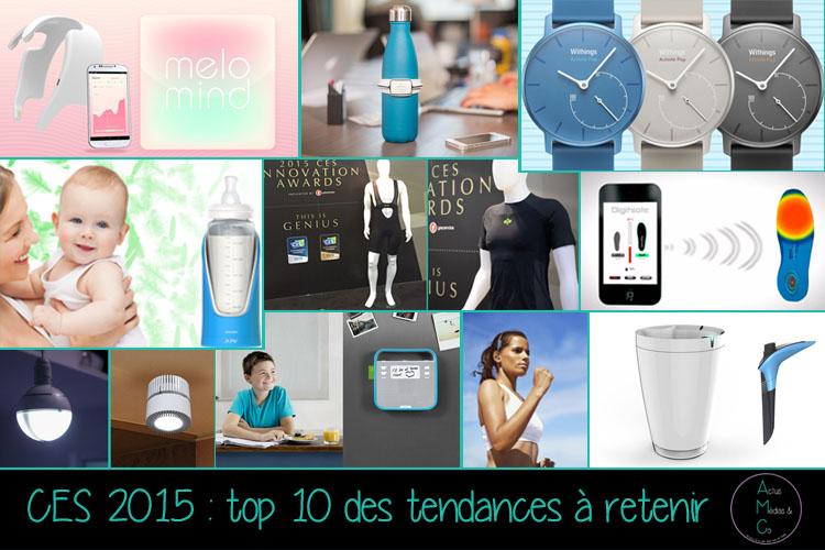 découvrez les 10 tendances du CES 2015