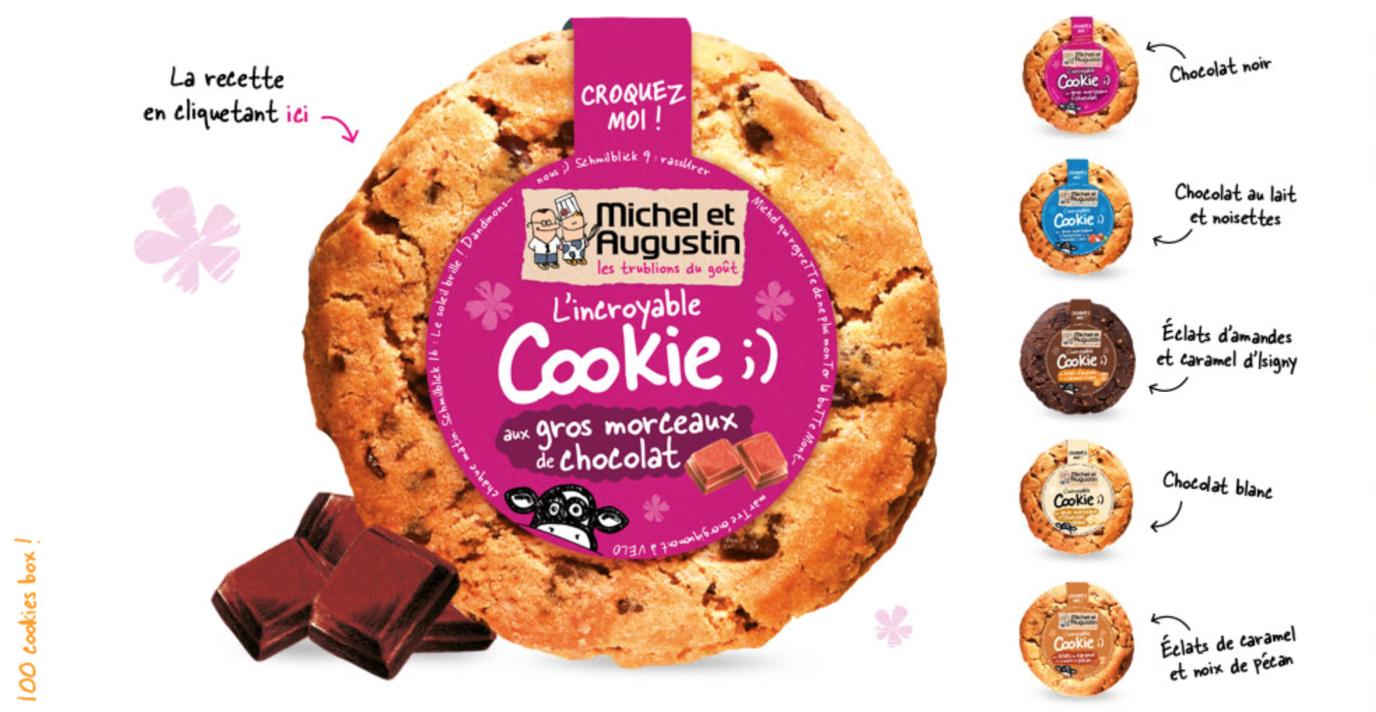 Michel et Augustin vous font découvrir leur délicieux cookies au Publicis Drugstore à Paris