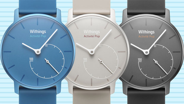 Withings allie technologie et horlogerie avec sa nouvelle montre connecté Activité Pop
