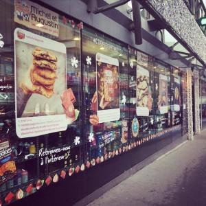 le publicis drugstore accueille Michel et Augustin pour des dégustations, un atelier et un jeu concours instagram jusqu'au 7 février