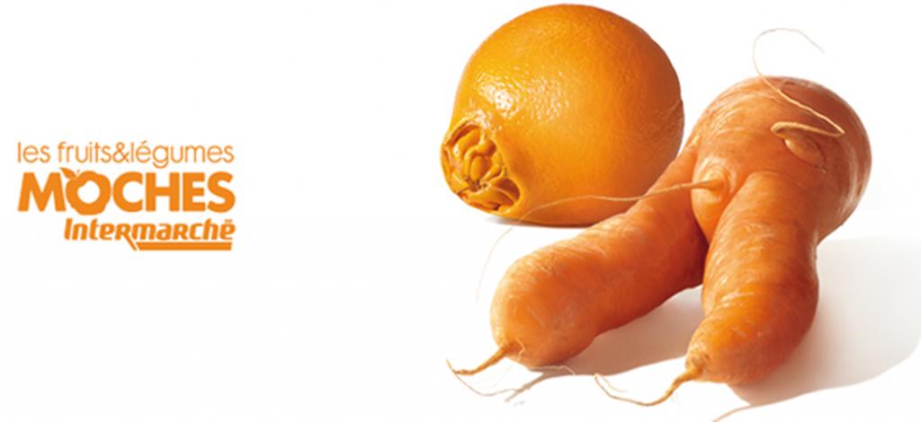 intermarché lutte contre le gaspillage et commercialise des fruits et légumes moches