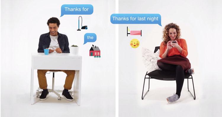 Avec cette application, IKEA veut favoriser l'échange dans les couples en dédramatisant la situation