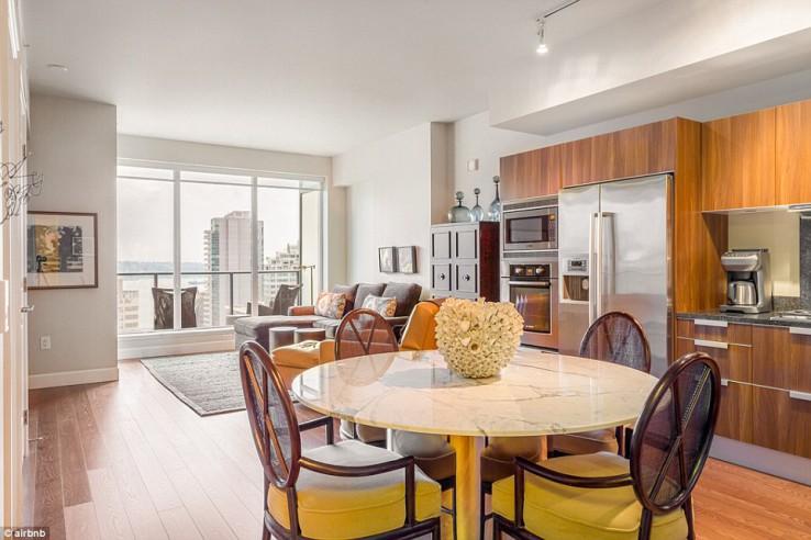 ce joli appartement a servi au tournage de 50 nuances de grey et vous pouvez le louer sur Airbnb
