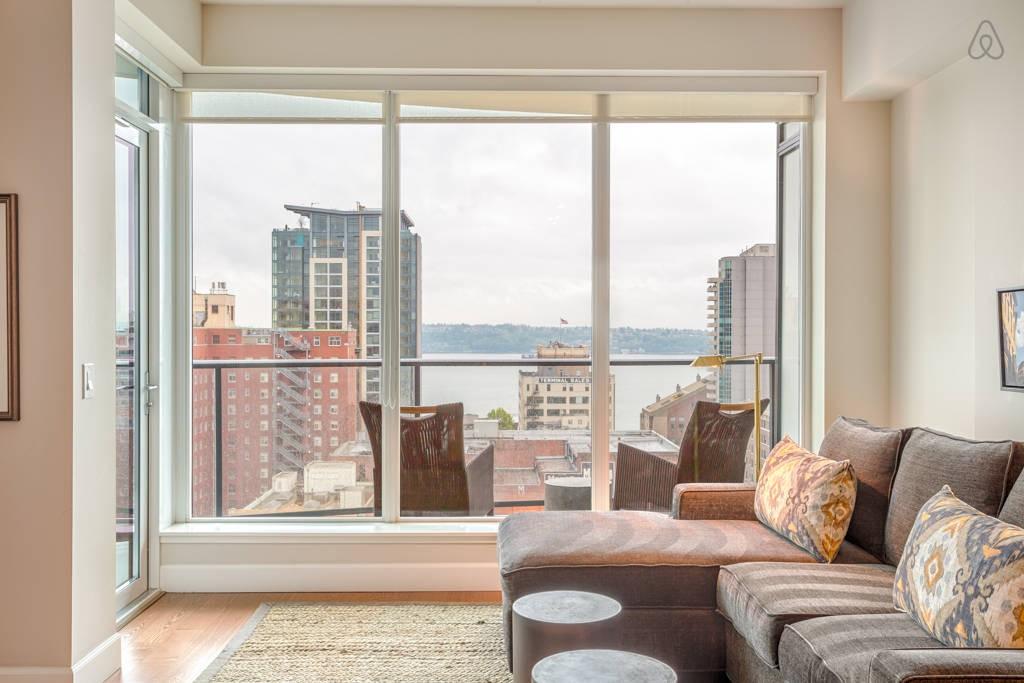 une superbe vue sur Seattle