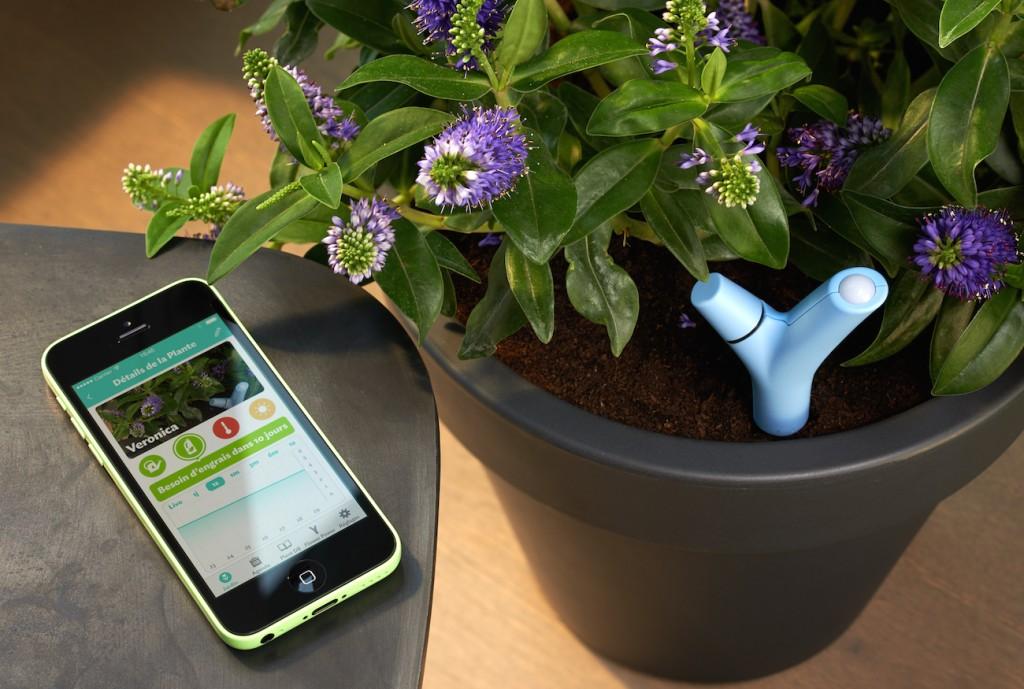 Parrot nous aide à avoir la main verte
