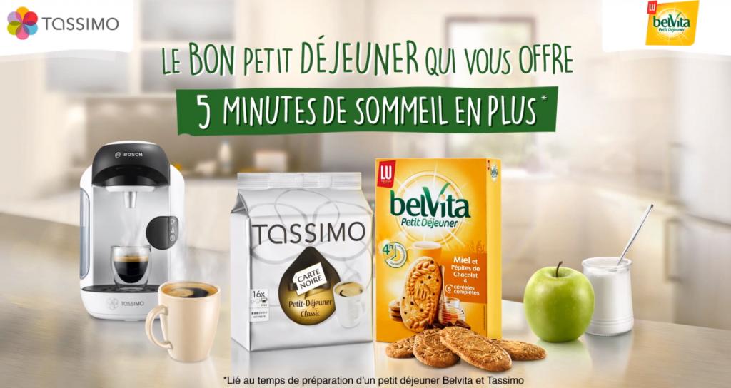 Les saveurs Tassimo et Belvita permettent de petit déjeuner rapide efficace et gourmand