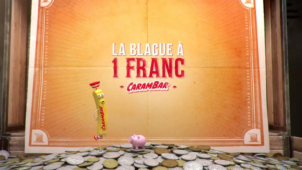 Carambar présente son opération la Blague à 1 Franc