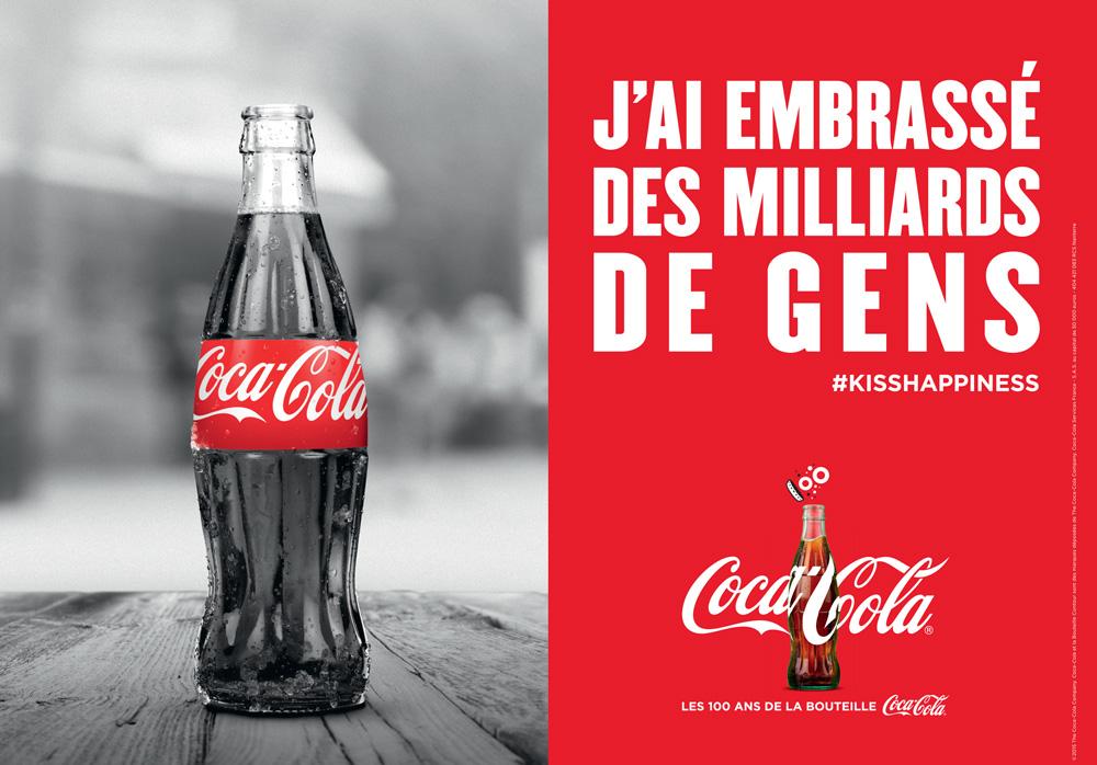 Coca Cola célèbre les 100 ans de sa bouteille Contour avec une campagne d'envergure