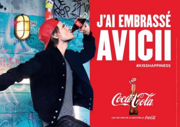 Coca Cola a embrassé Avicii