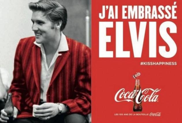 Coca Cola a embrassé Elvis