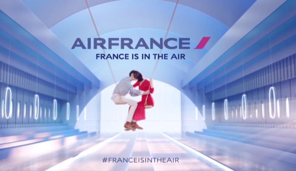 Air France dévoile son film de marque dans la continuité de sa campagne visuelle 2014