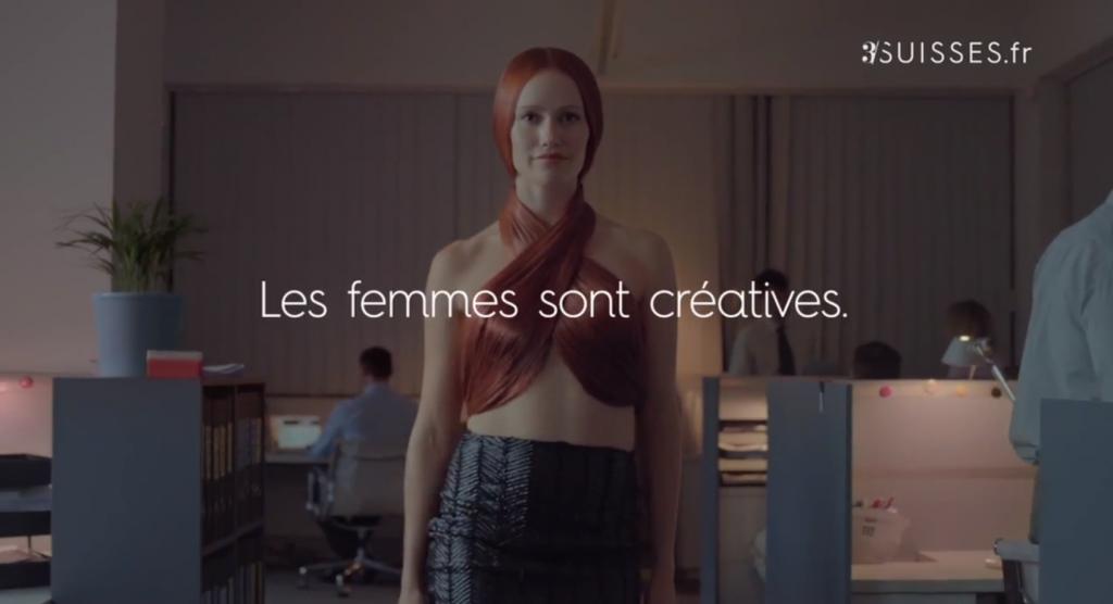 Les3 Suisses nous montrent une nouvelle fois que les femmes sont créatives