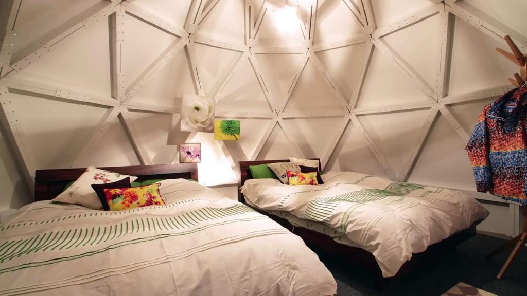 airbnb montre qu'un igloo peut être spacieux et douillet