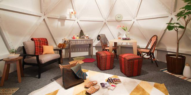 ces igloos étaient composés de trois lits et d'un salon