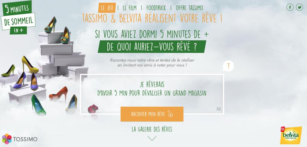 un site dédié est disponible pour consulter les dates du foodtruck et participer au jeu concours