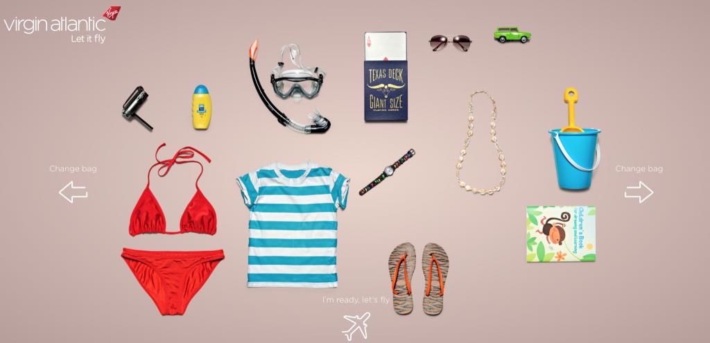 une valise plutôt estivale ? Choisissez et Virgin Atlantic vous donnera une destination en adéquation