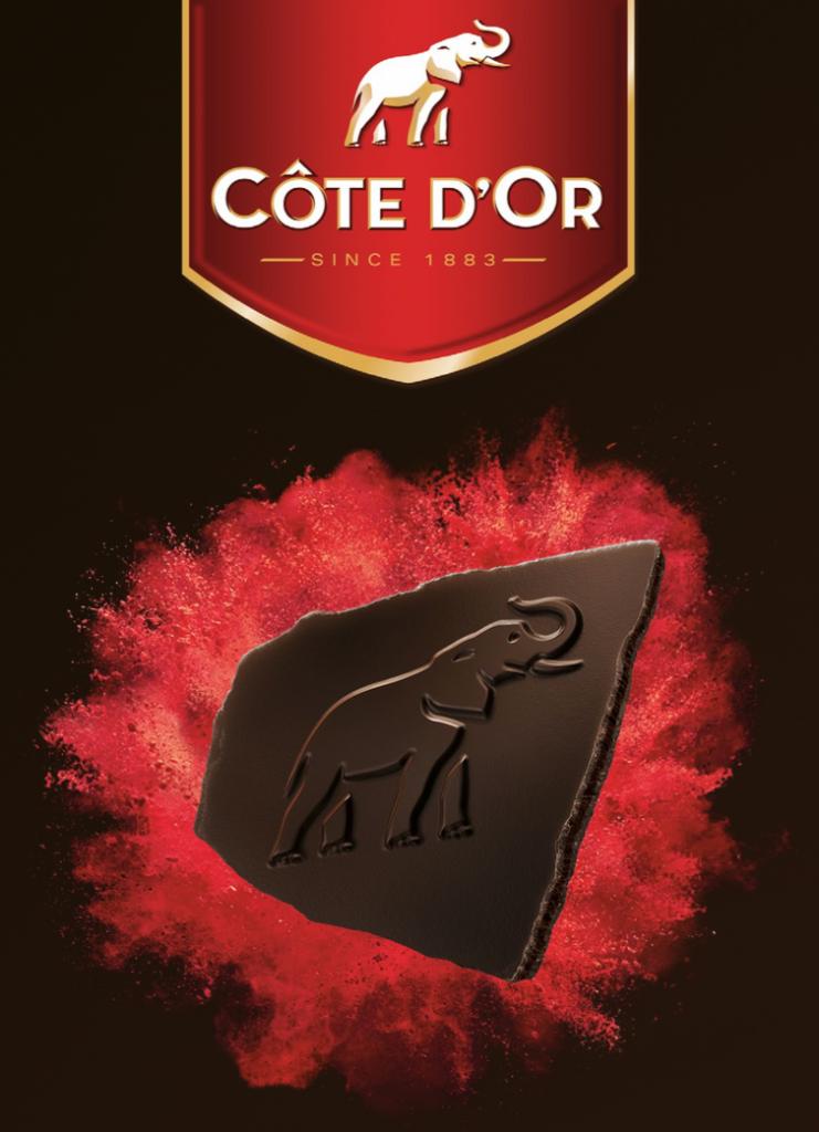 Côte d'Or lance la tablette de chocolats sans carré